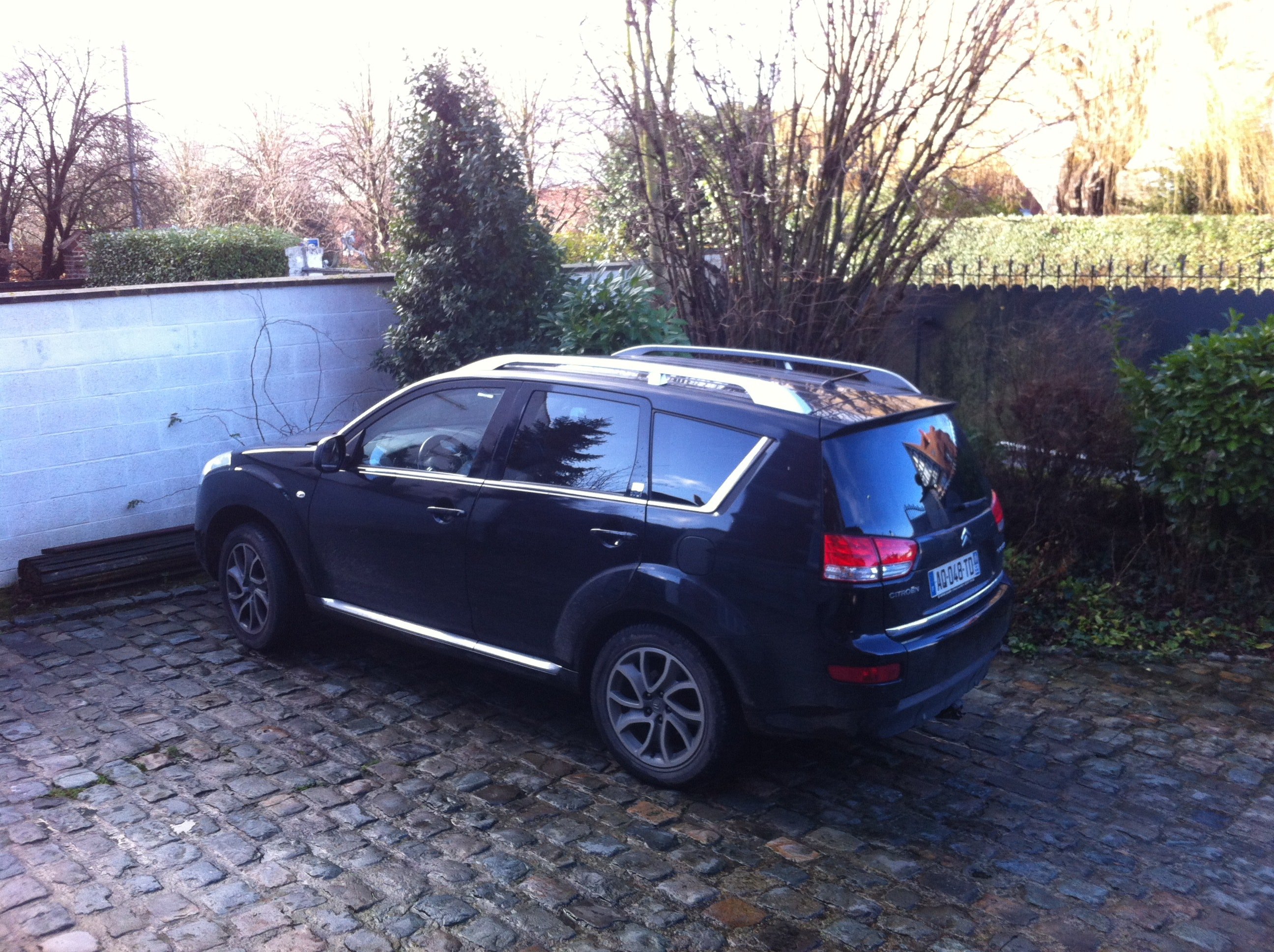Citroen 4x4 C-Crosser, 2009, Diesel, automatique, 7 places