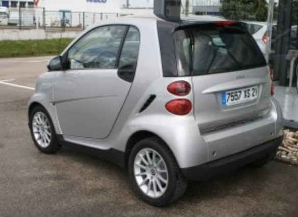 Smart Fortwo 2 Passion, 2010, Essence, automatique