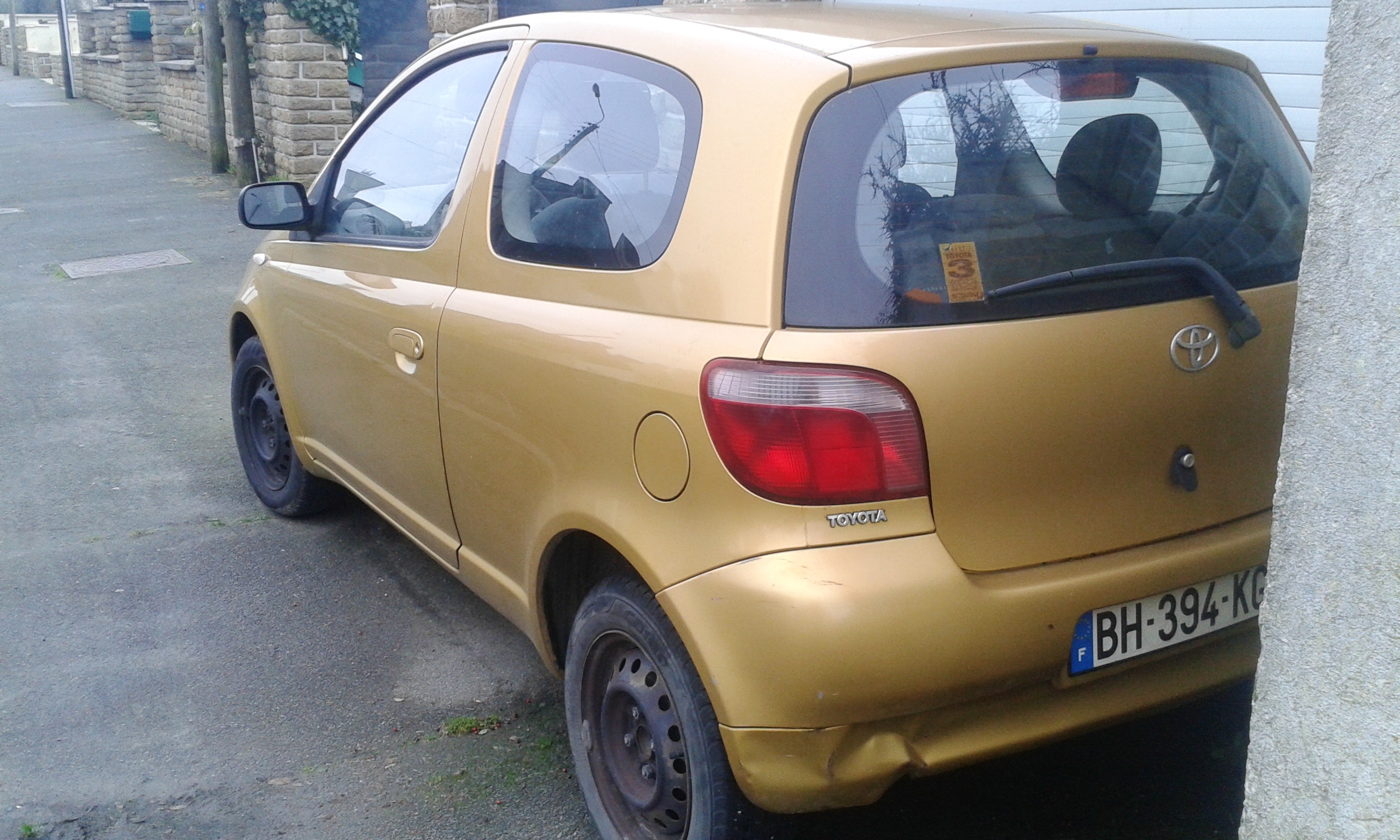 toyota yaris, 1999, Essence