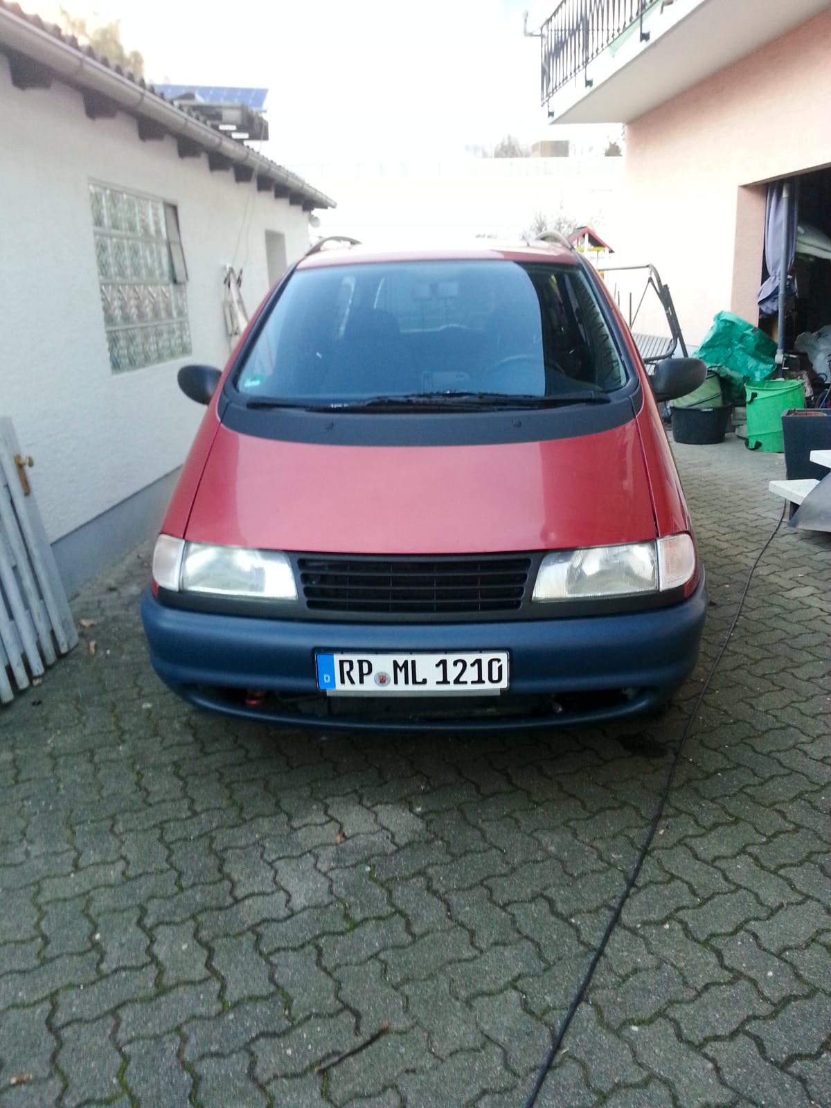 Volkswagen Sharan 2.0 CL mit CD-Player