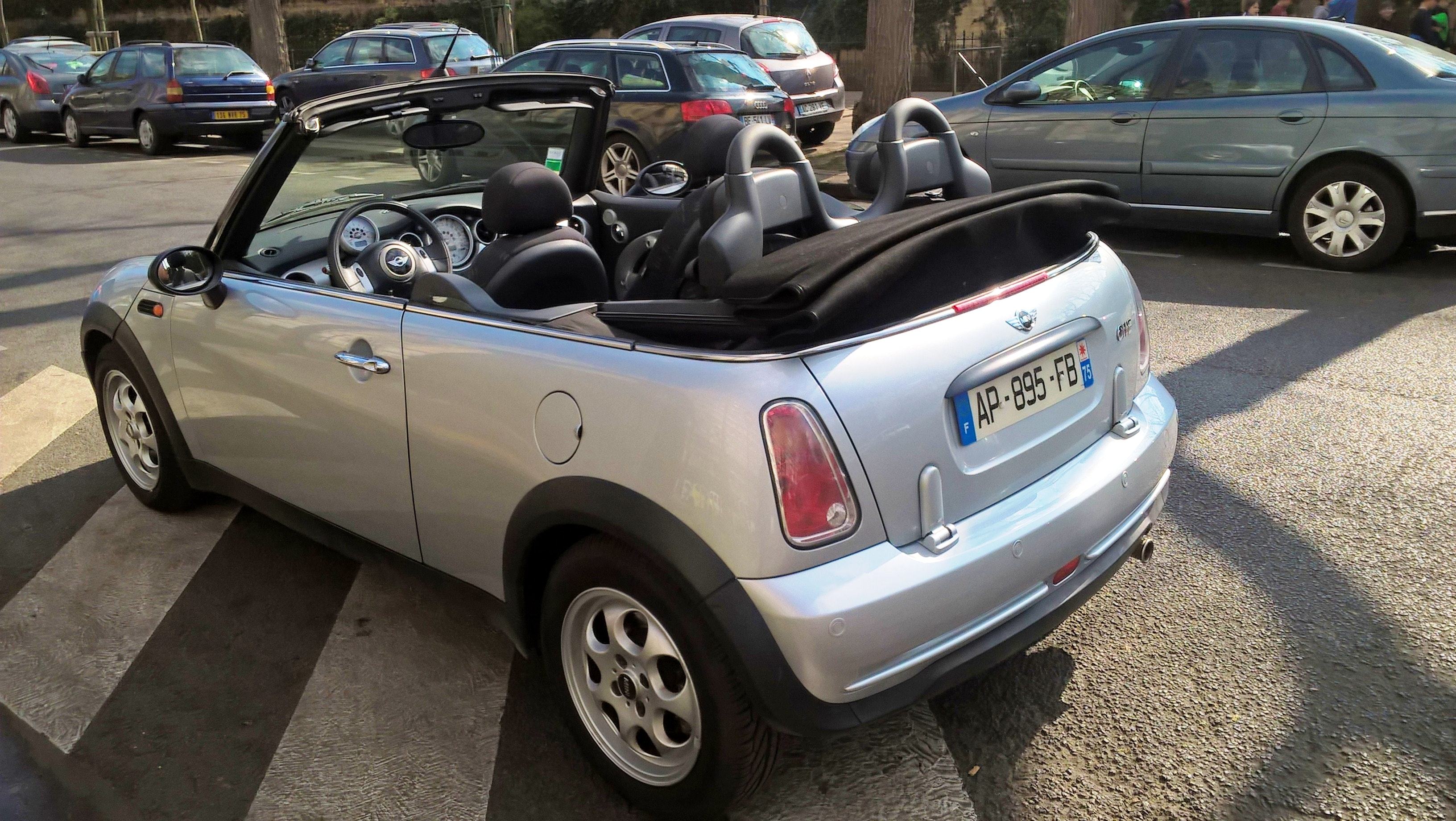 Mini Cabriolet 1.6 CLIM, 2005, Essence - Cabriolet Paris (75)