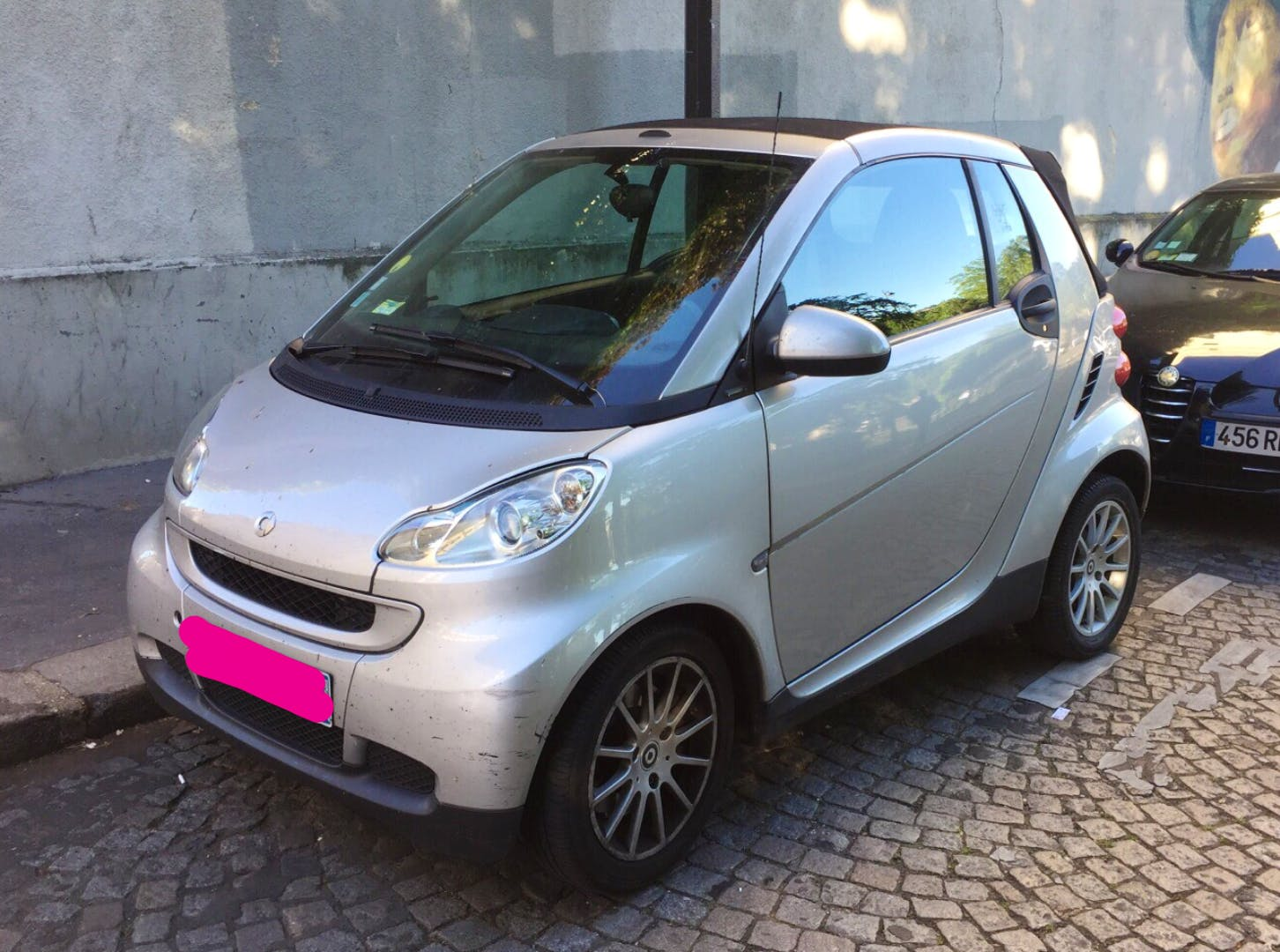 Smart Fortwo Cabriolet 71ch Passion (clim, Jack,...) PARIS 13 - SAINT JACQUES #aq, 2009, Essence, automatique