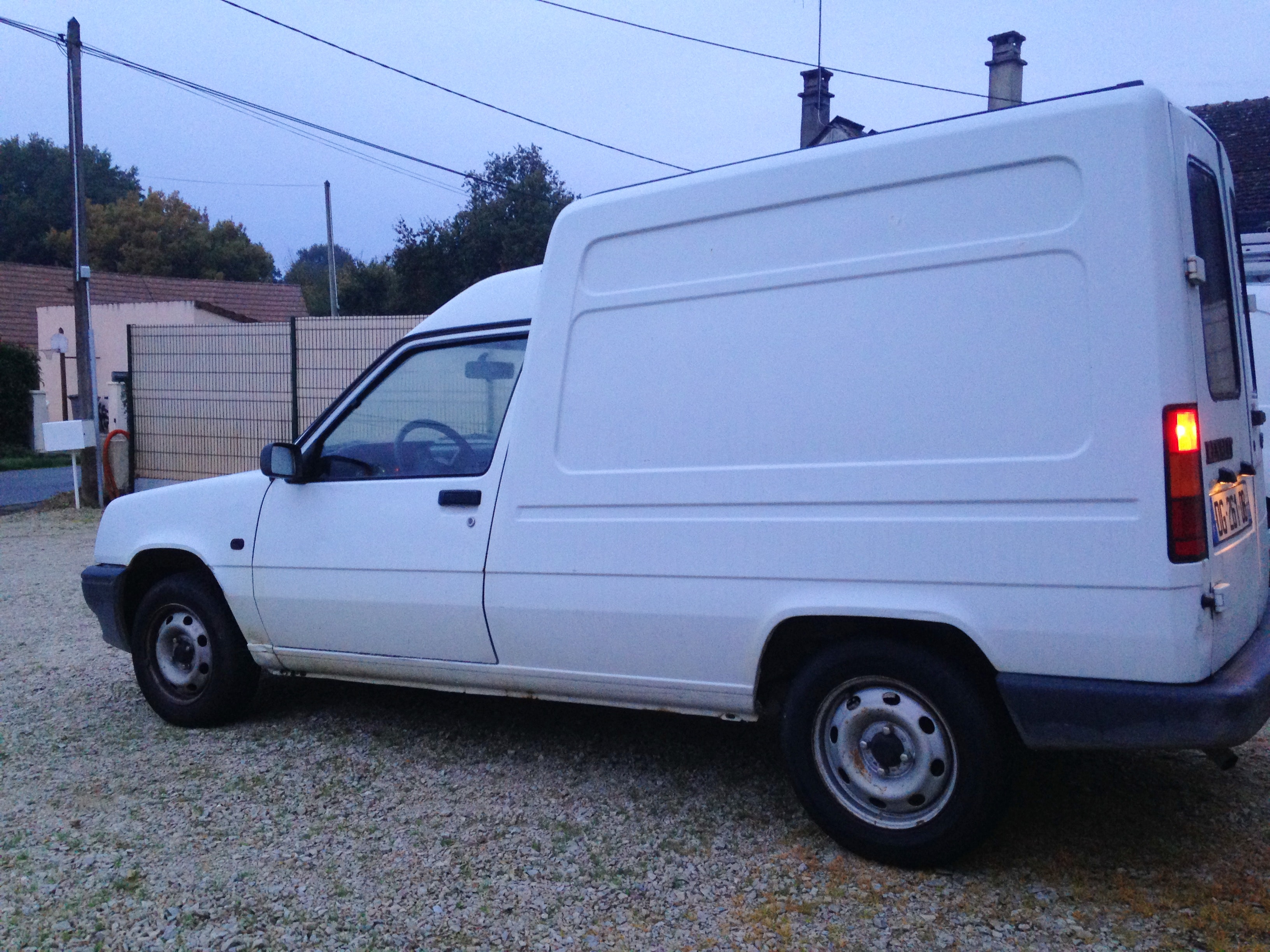 renault express 1.1 l , 1992, Essence
