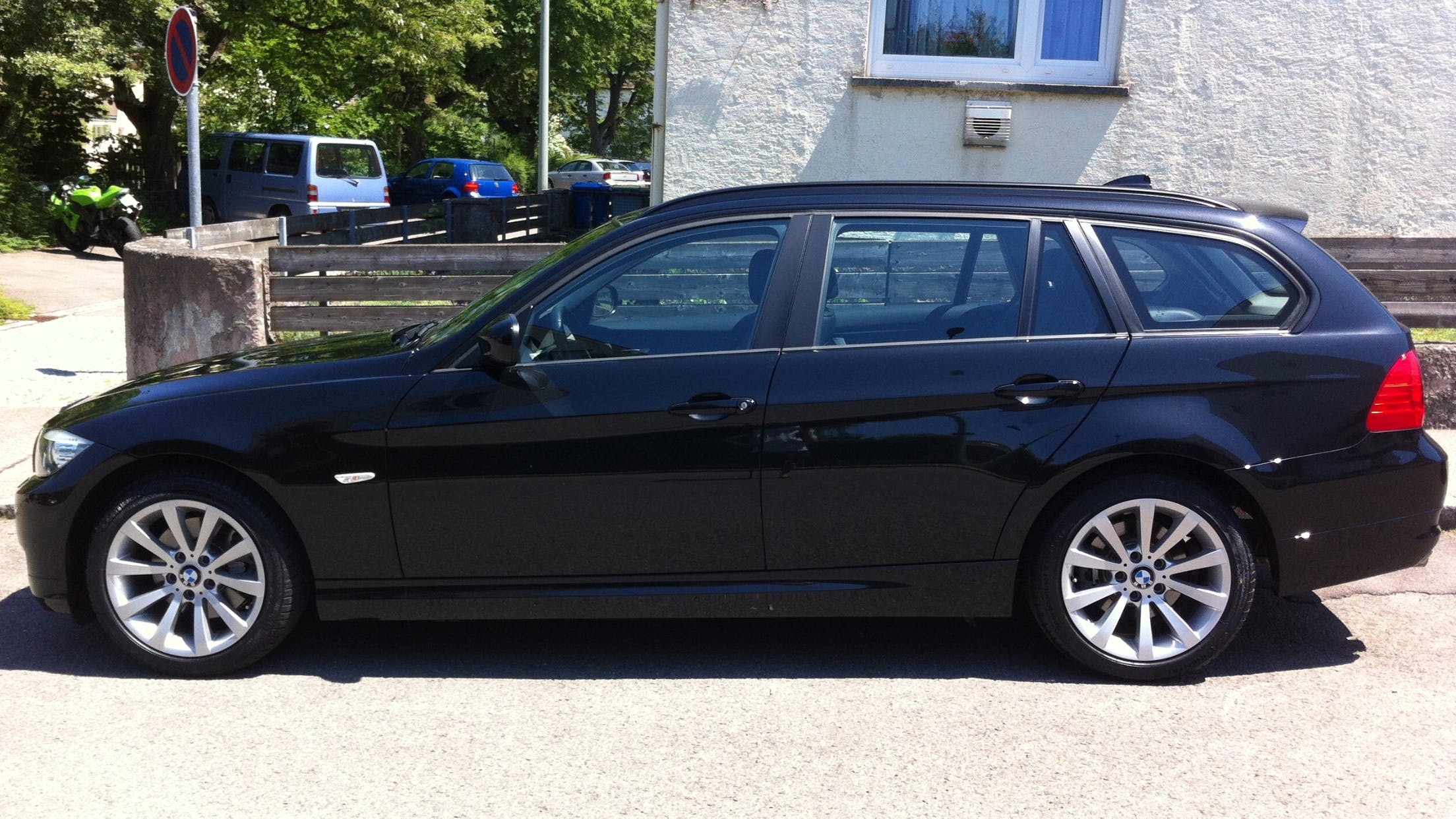 BMW 3er Touring 320D Touring EfficientDynamics mit Kindersitz