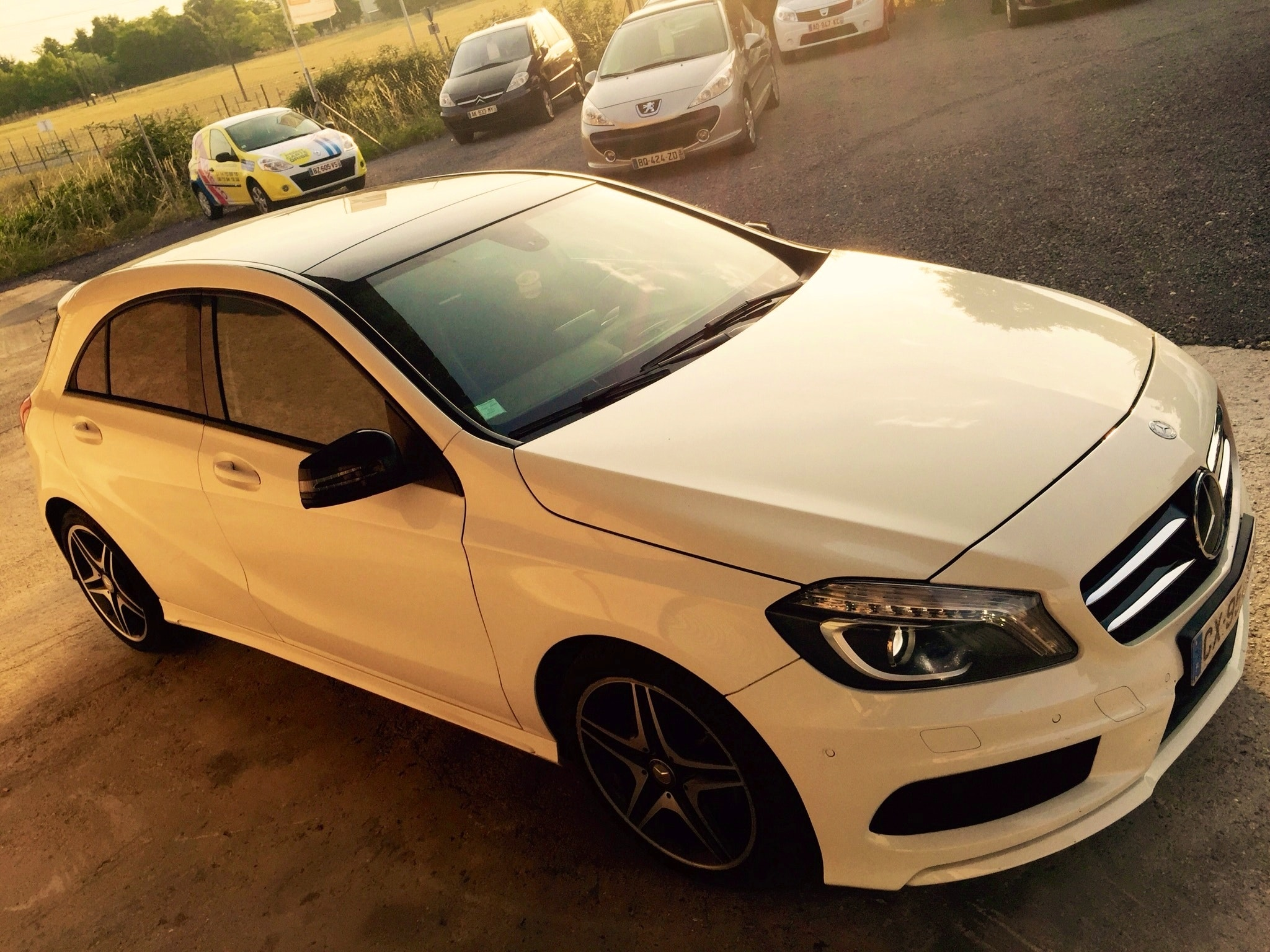 Mercedes Class a200 cdi amg/fascination full options, 2013, Diesel, automatique