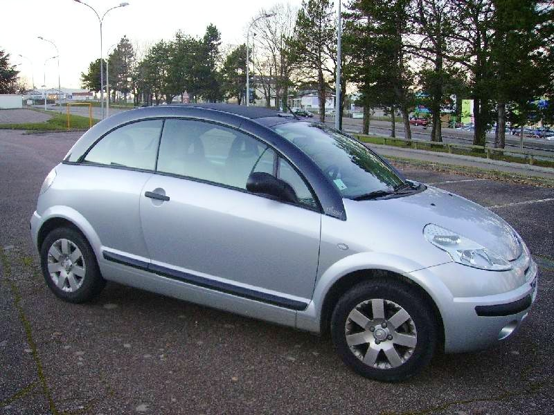 Citroen C3 Pluriel, 2004, Essence