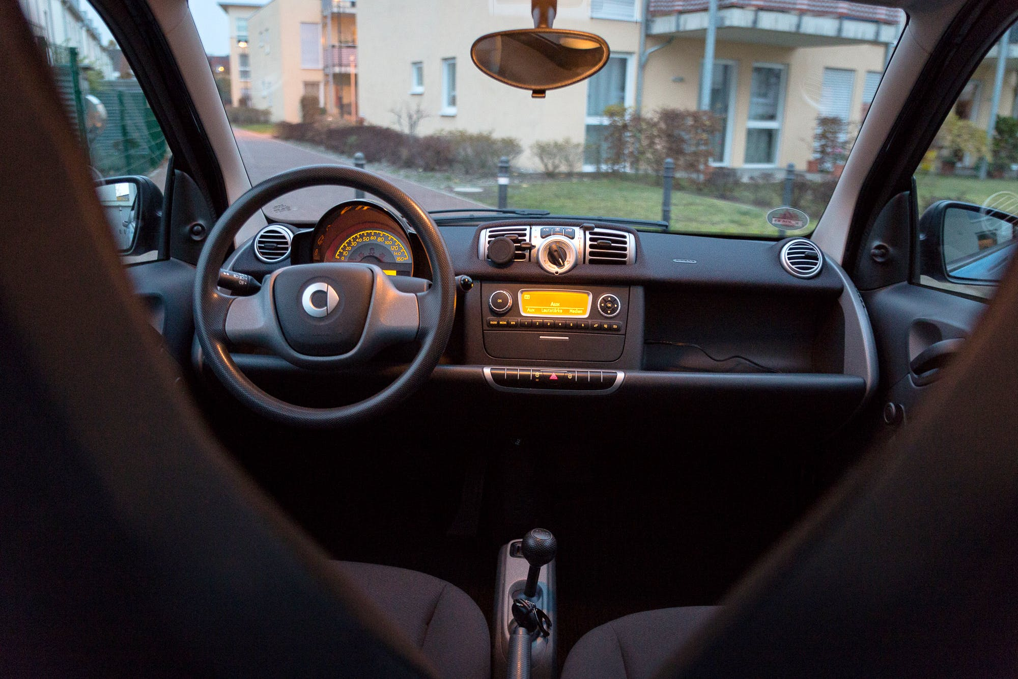 Smart Fortwo Coupé mit Audio-/iPod-Zugang