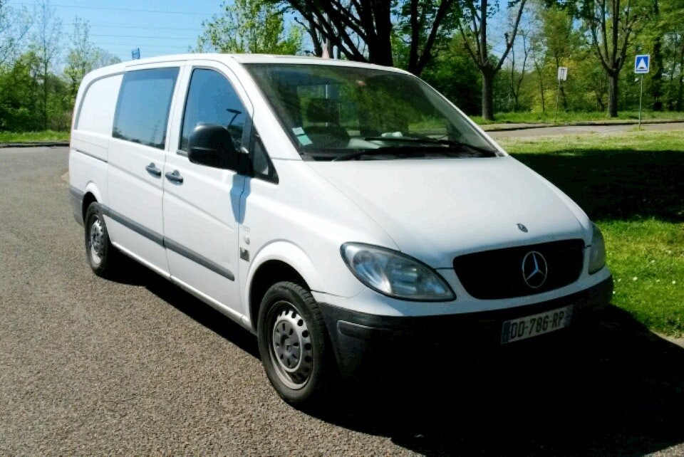 Mercedes  Vito , 2007, Diesel, 6 places - Utilitaire Strasbourg (67)