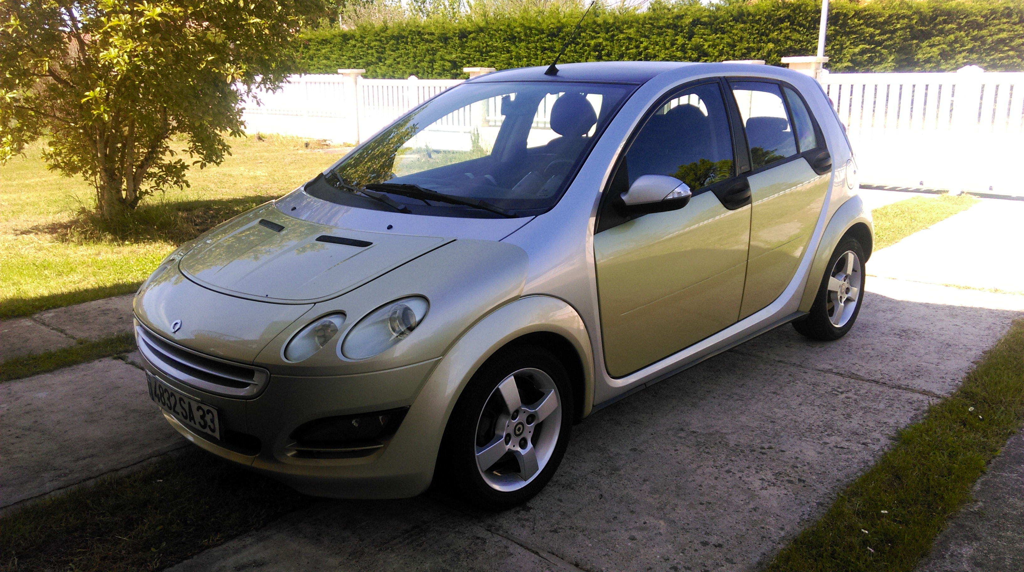 Smart  Forfour 1.3 Passion, 2004, Essence