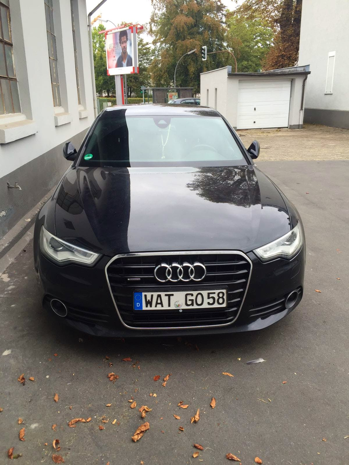 Audi A6 S-Line mit CD-Player