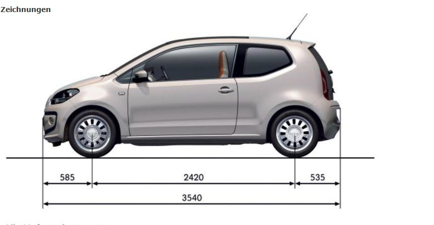 Volkswagen  Up Take *Rent the car :O) mit CD-Player