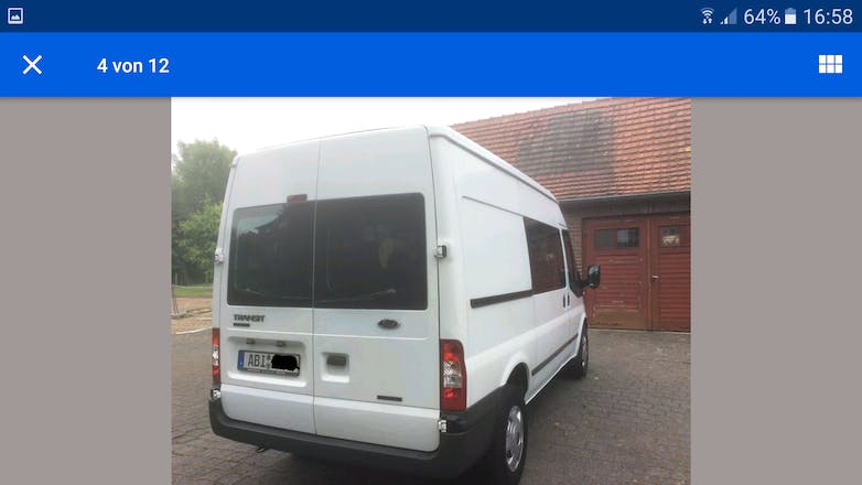 transporter ford transit fourgon 2010 diesel 6 sitze in bochum bochum h ntrop kirche mieten. Black Bedroom Furniture Sets. Home Design Ideas