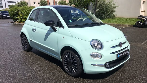 Fiat 500 GPS USB Bluetooth, 2017, Essence
