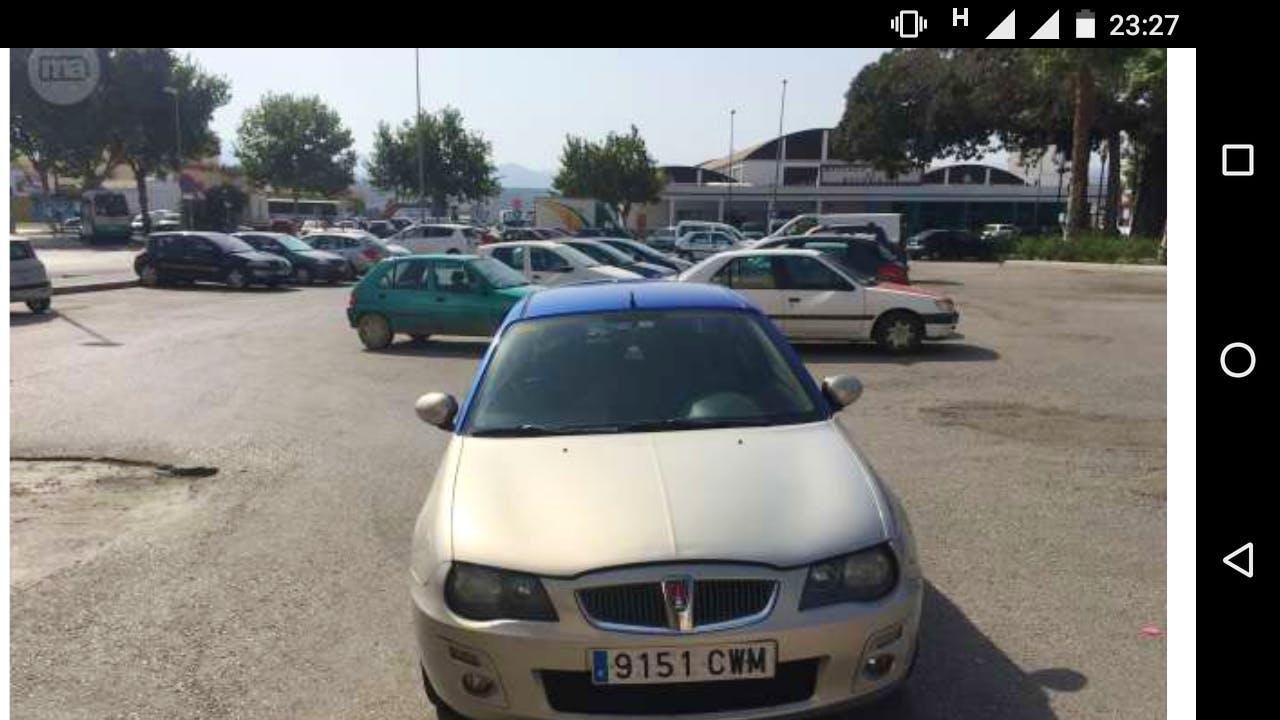 MG Rover ZR, 2004, Gasolina