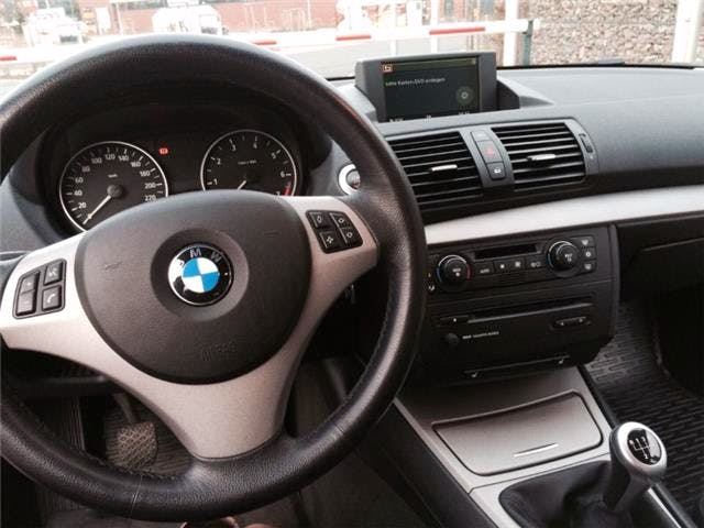 BMW 116i mit CD-Player