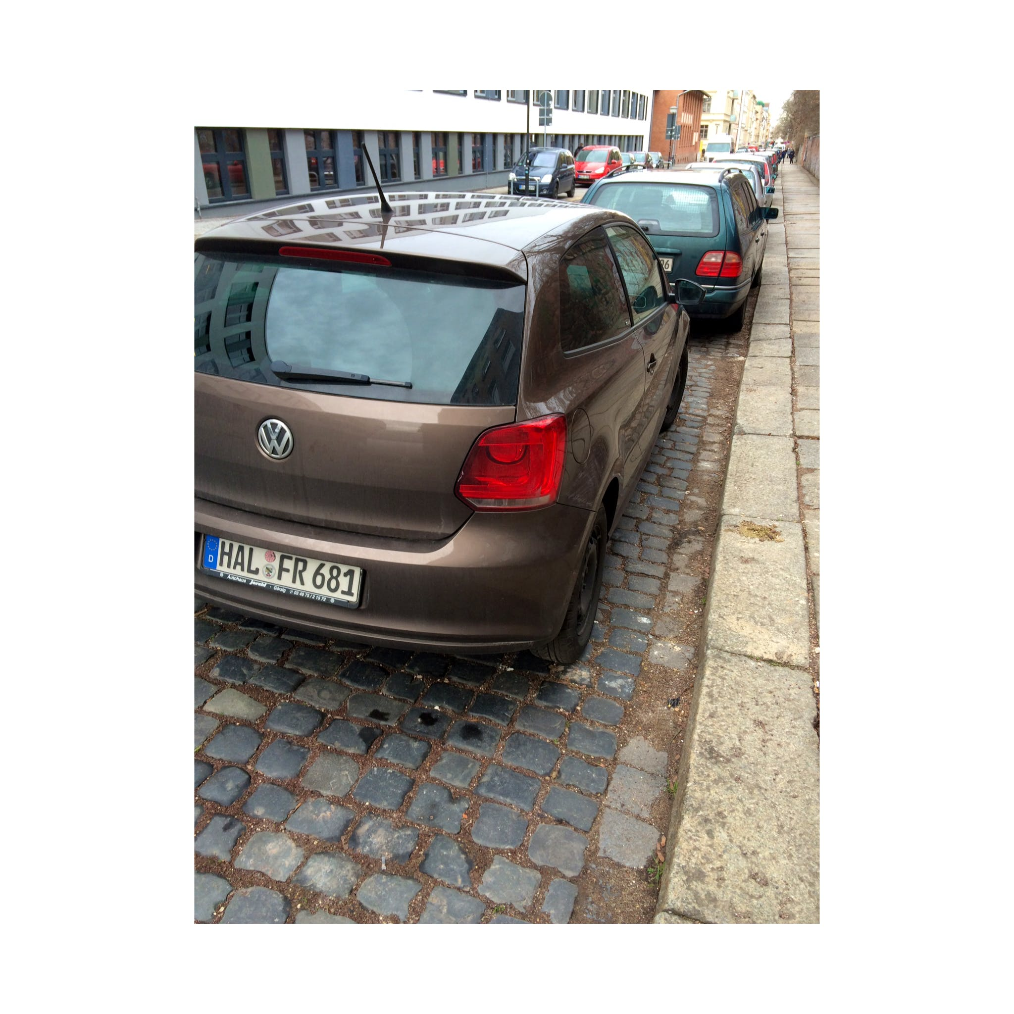 VW Polo Style mit CD-Player