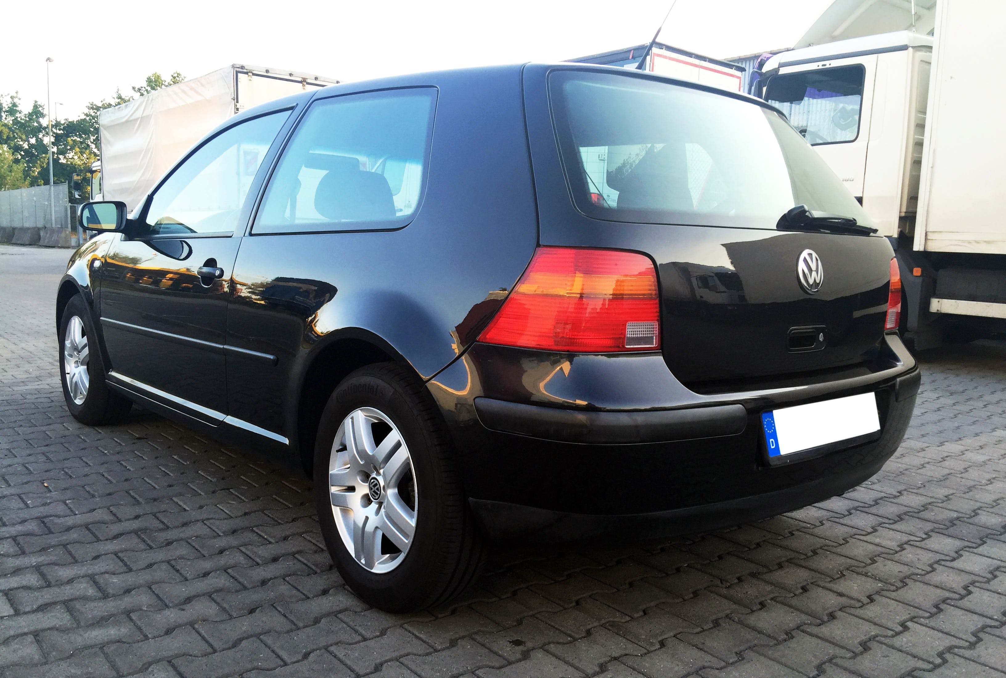 Volkswagen Golf 4 mit CD-Player