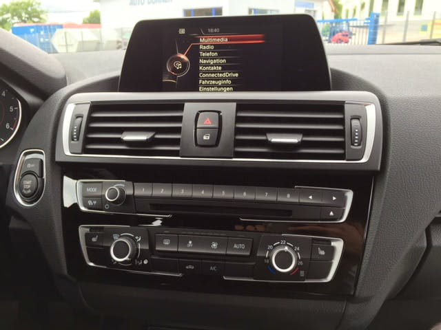 BMW 1er 116d M-Paket mit CD-Player
