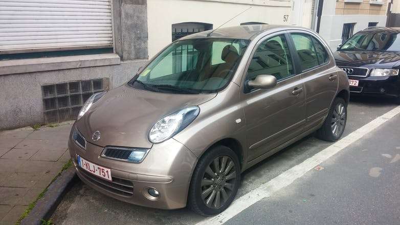 location nissan micra 2009 automatique woluwe saint