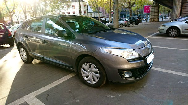 Renault Mégane Estate (Break avec Clim, Bluetooth, USB, jack,...) GLACIERE - DENFERT #am, 2012, Diesel
