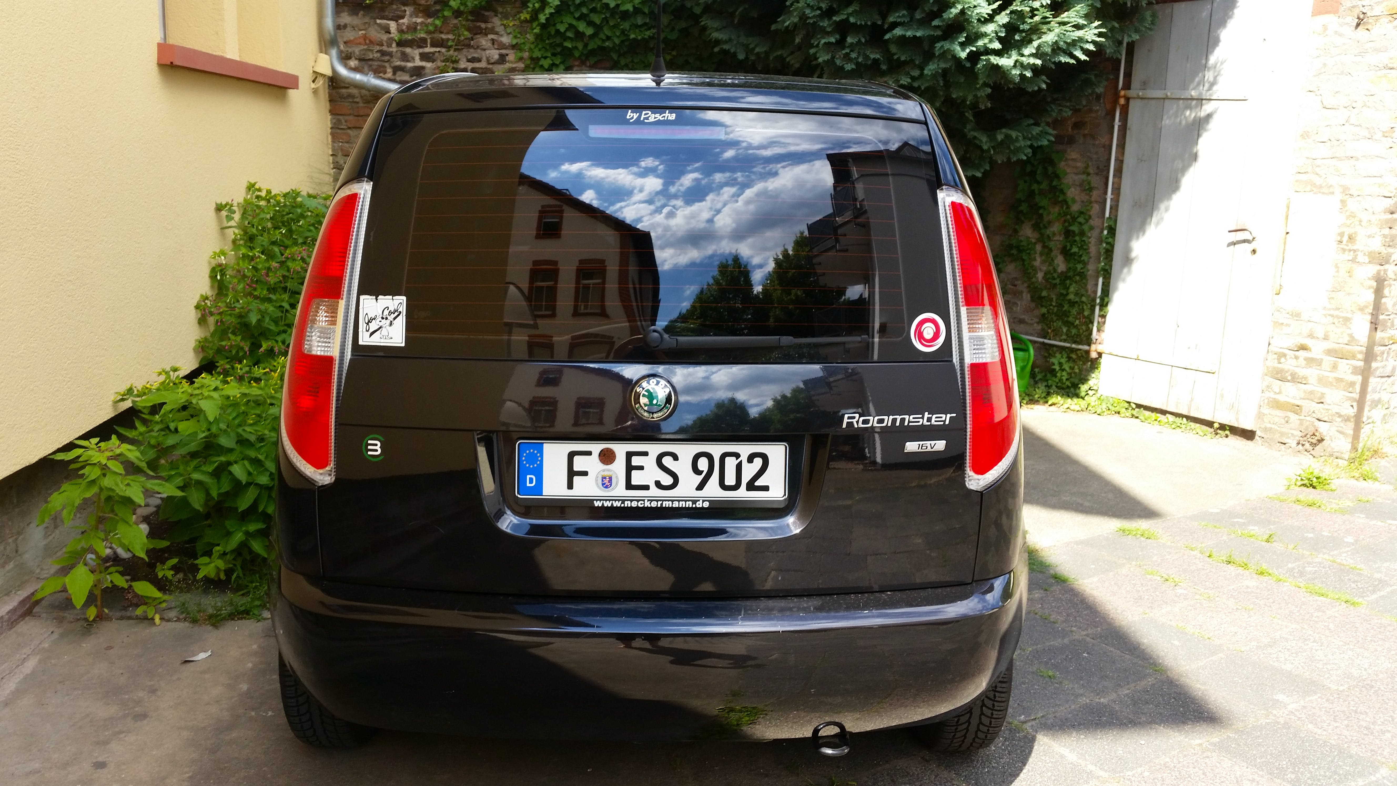 Skoda Roomster mit CD-Player