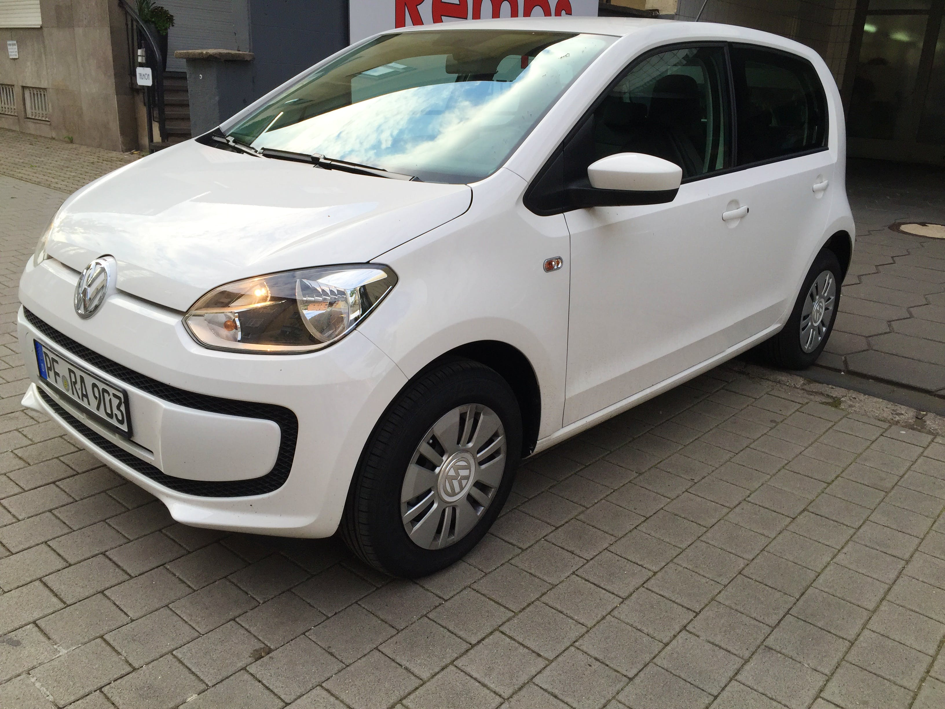 Vw Up mit CD-Player
