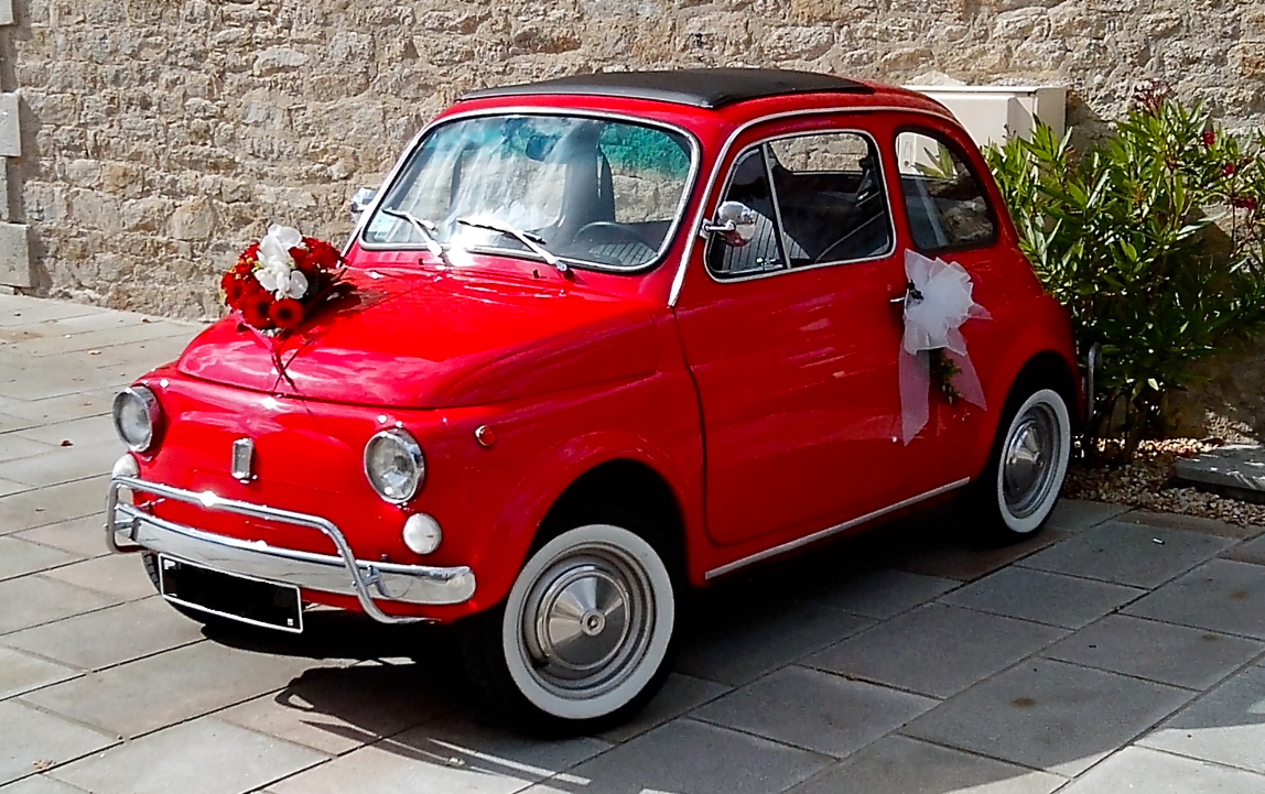 FIAT 500 Collection Rouge 1973, 1973, Essence