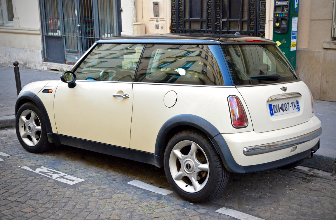 MINI COOPER , 2003, Essence - Coupé Paris (75)