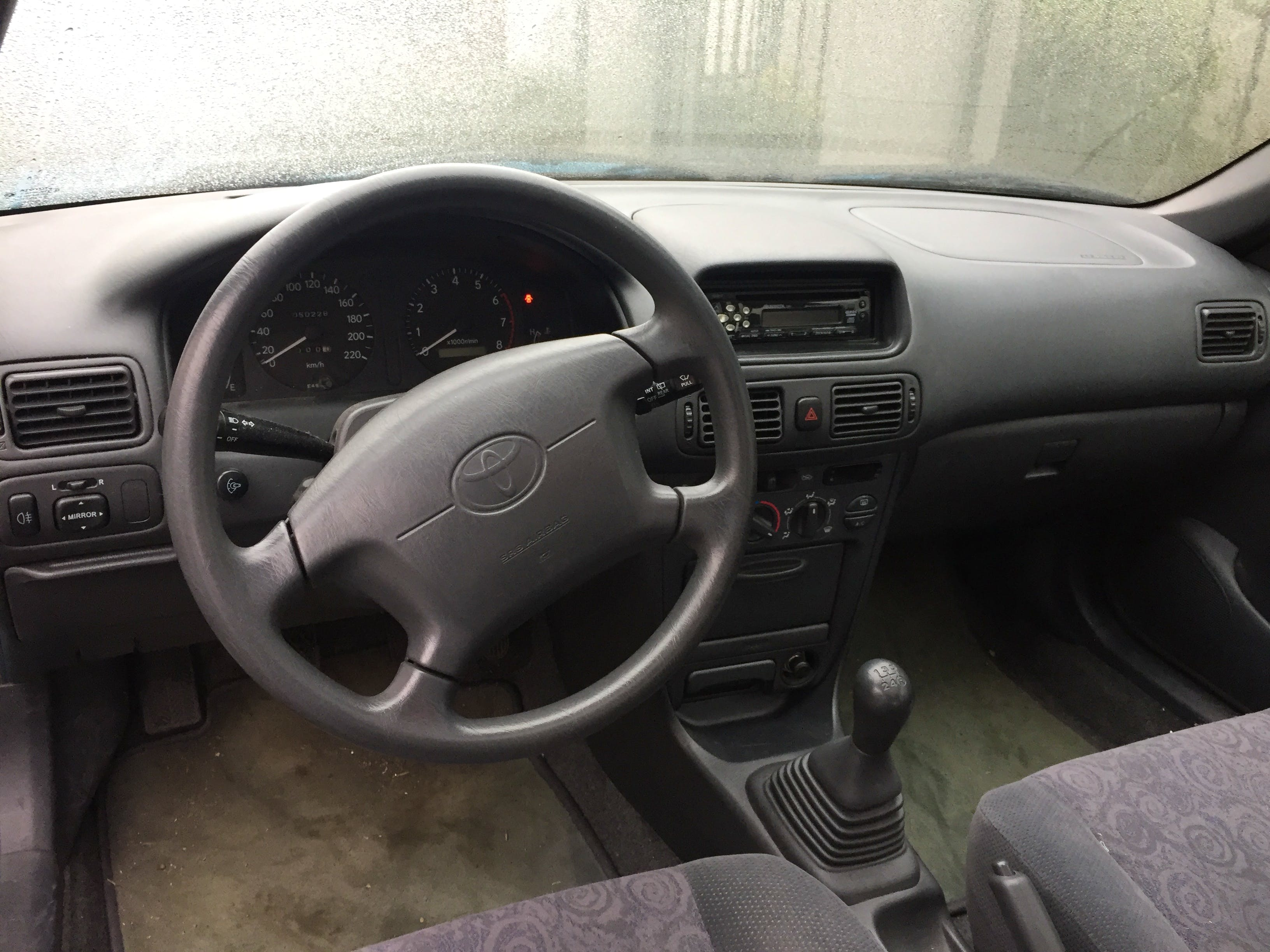Toyota Corolla mit CD-Player