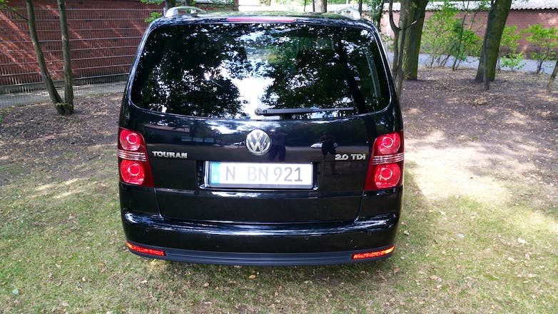 volkswagen touran 2008 diesel in n rnberg salzbrunner. Black Bedroom Furniture Sets. Home Design Ideas