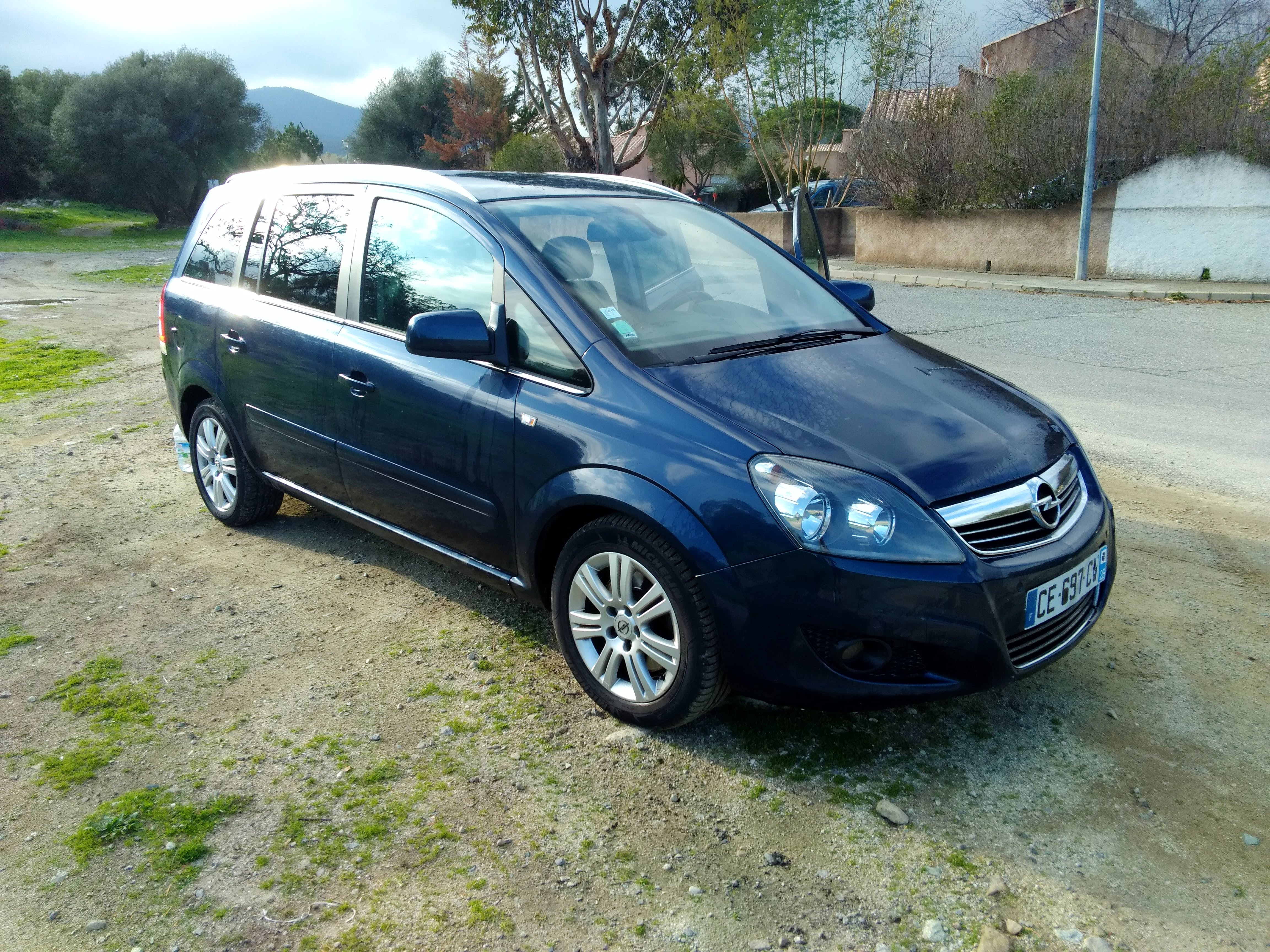 Opel Zafira, 2012, Diesel, 7 places