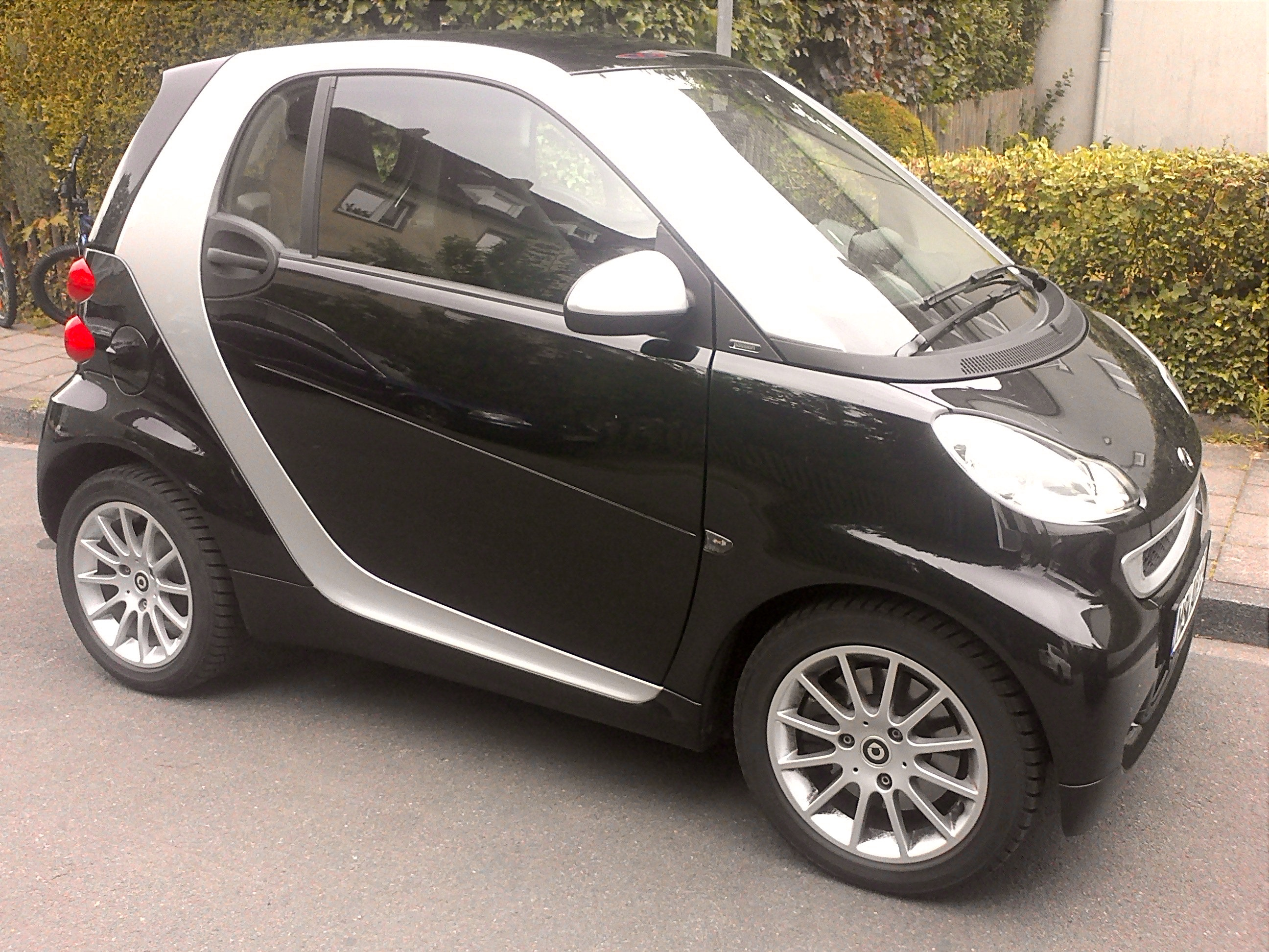 Smart fortwo coupé mhd, 2011