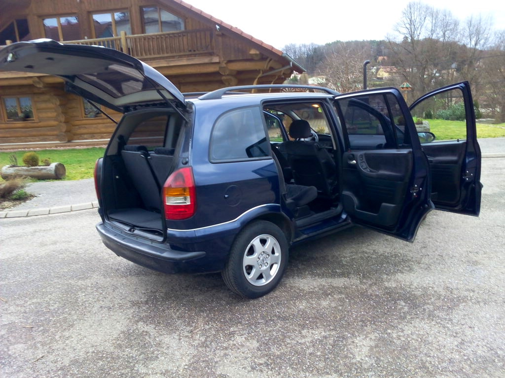 Opel Zafira 7 Places -Gare Sarreguemines -GPS- Rehausseur, 2001, Diesel, 7 places