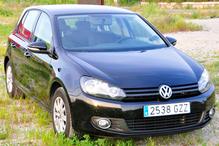 Volkswagen Golf VI 1.6 TDI 105 Bluemotion, 2010, Diésel