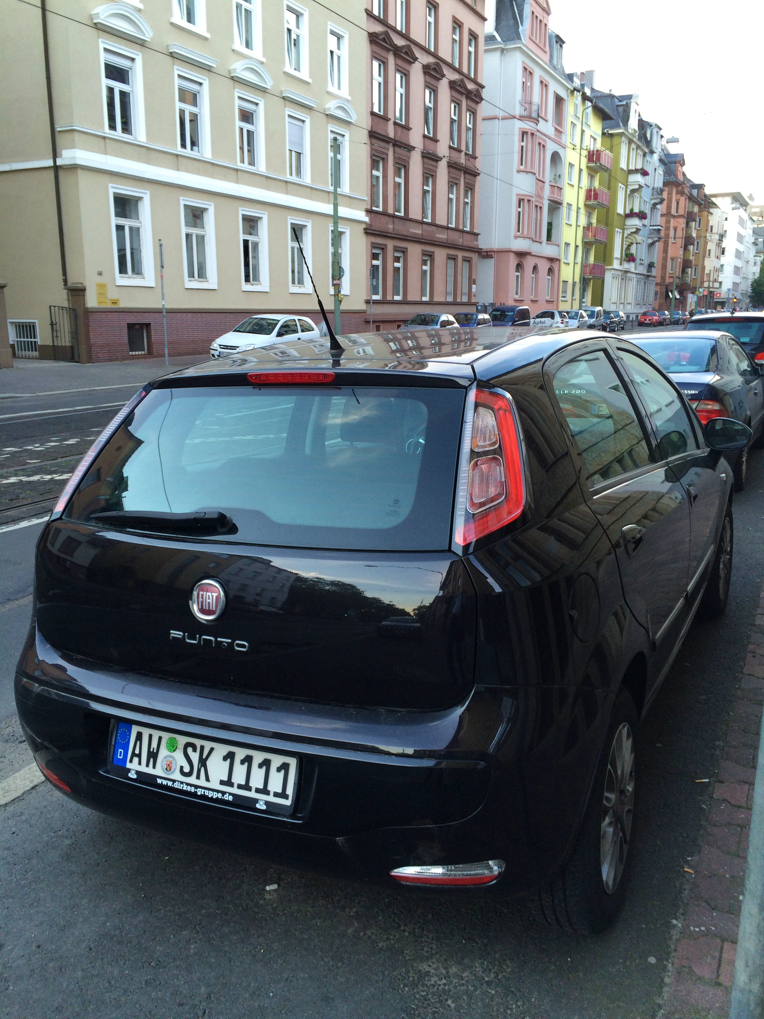 Fiat Punto 199 mit CD-Player