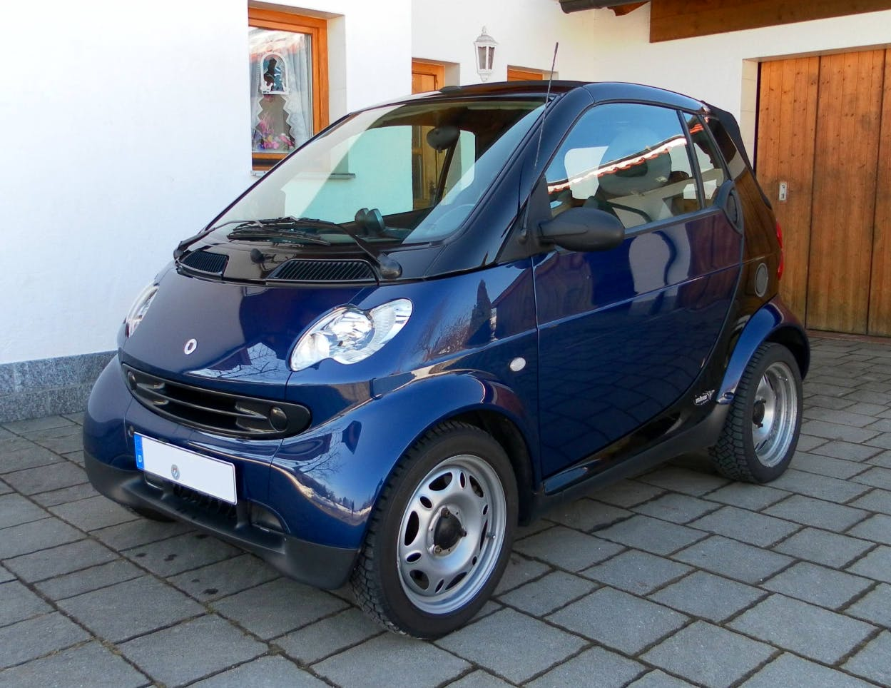 Smart Fortwo Coupe, 2003, Diesel
