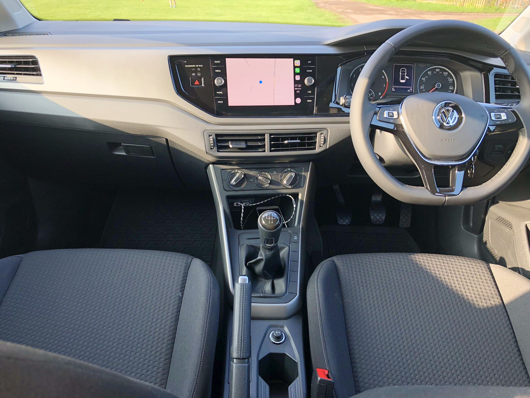 Volkswagen Polo with Audio/iPod input