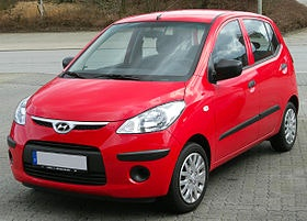 Hyundai i10 rouge , 2009, Essence
