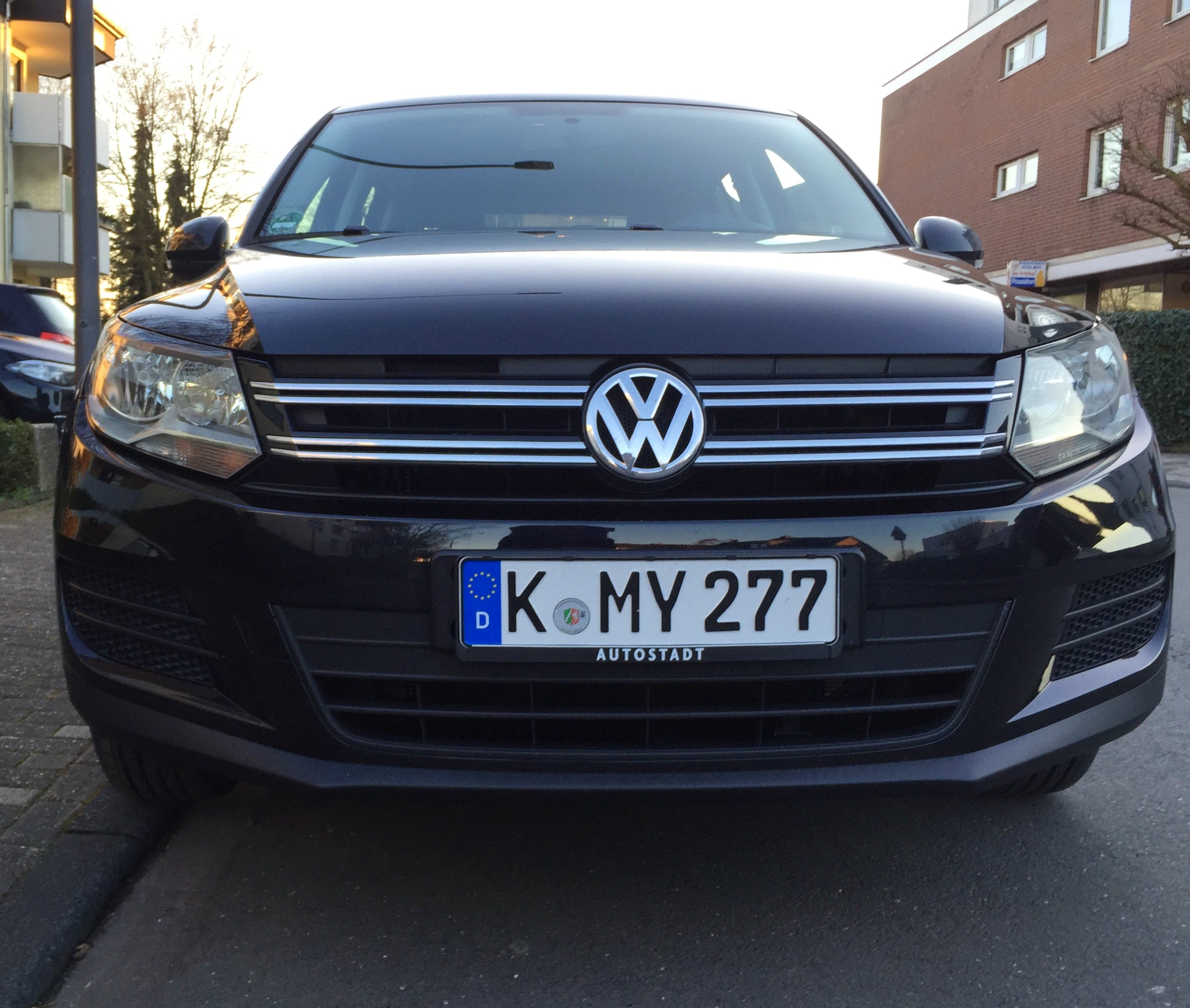 VW  Tiguan mit CD-Player
