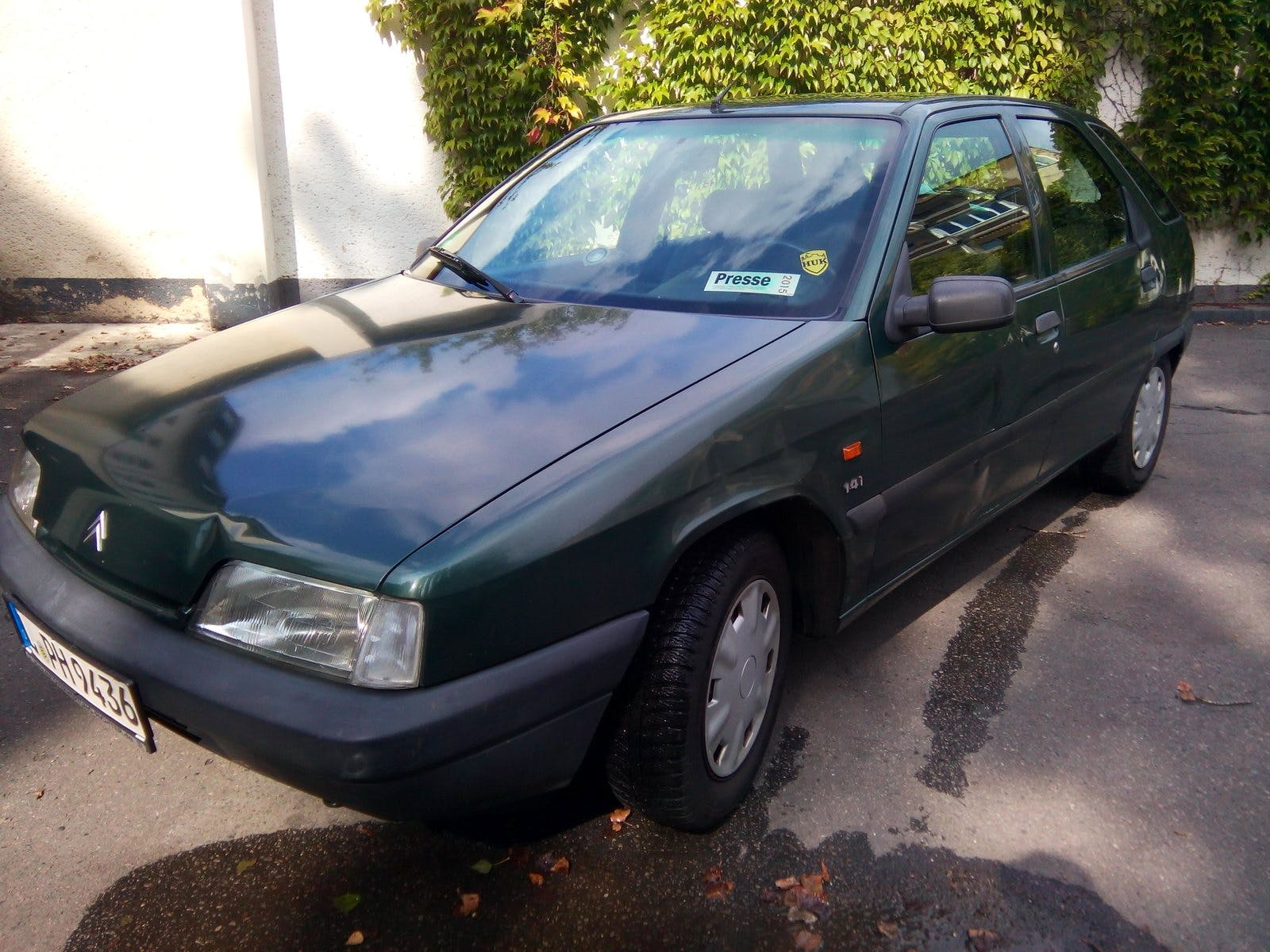 Citroen ZX 1,4 i mit Dachbox