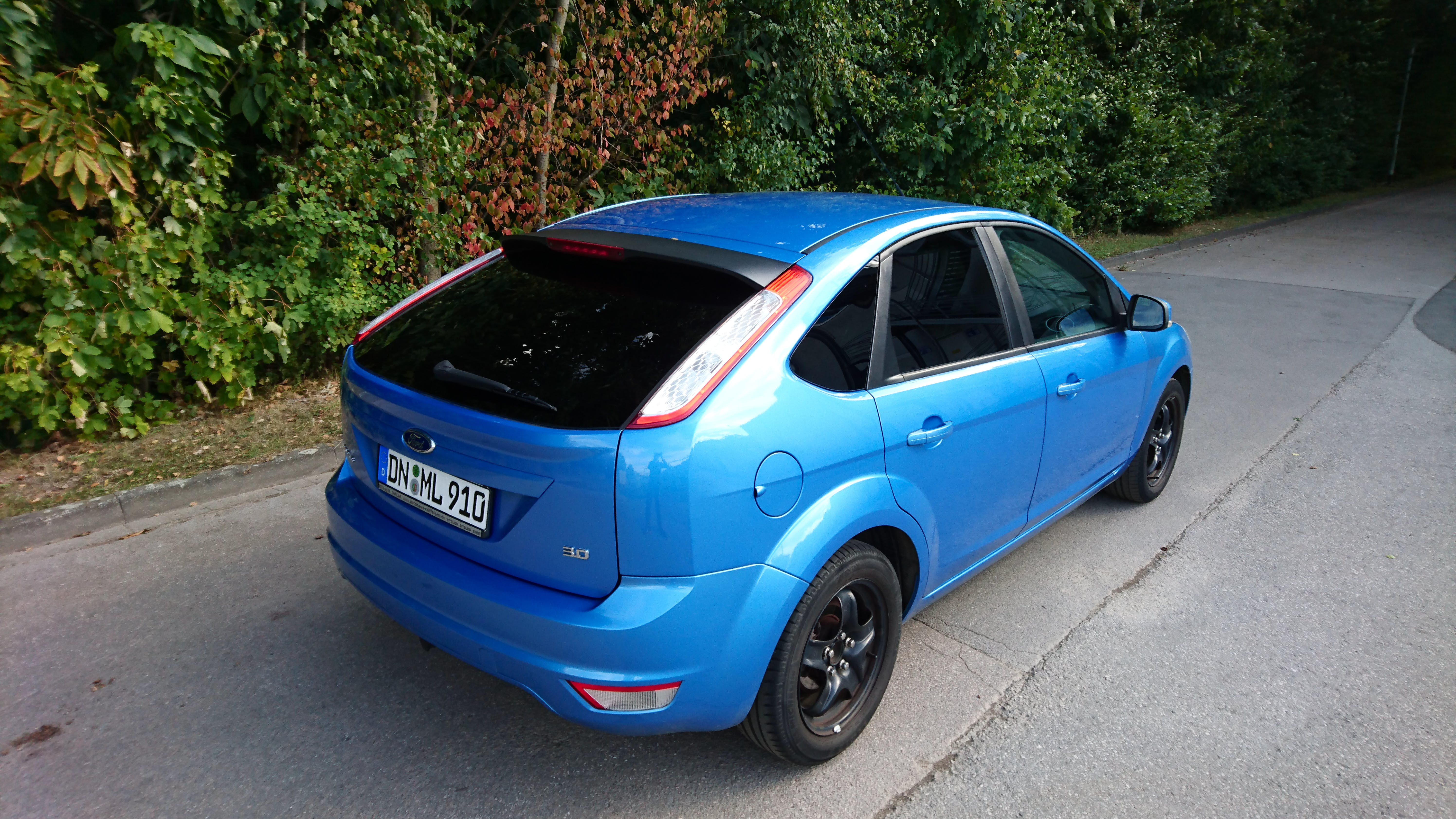 Ford Focus II (Facelift) mit CD-Player