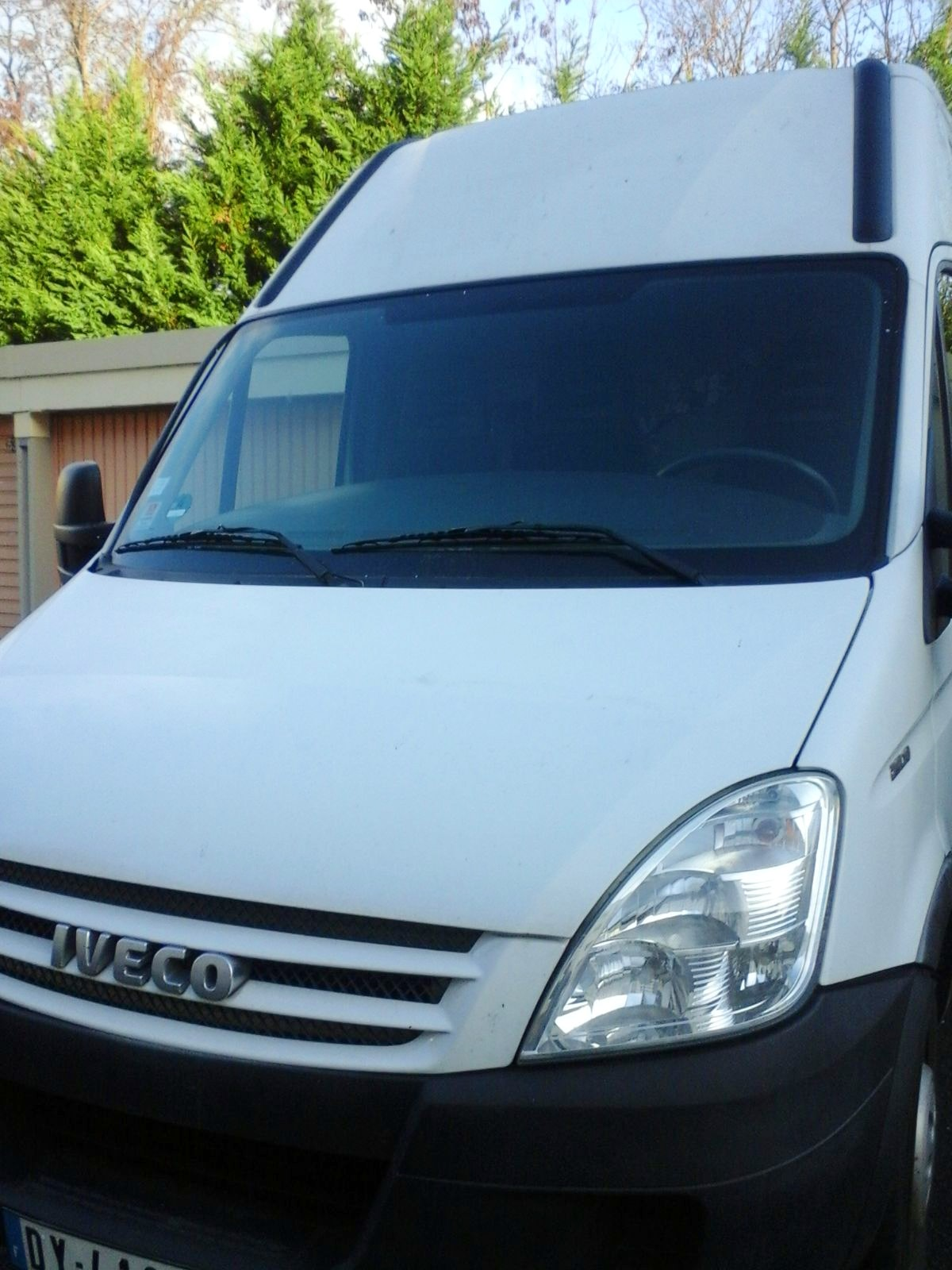 Iveco daily fourgon 12m3, 2015, Diesel