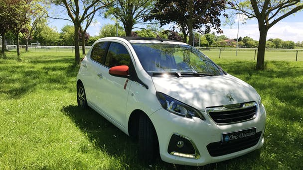 Peugeot 108 USB Bluetooth (Roland Garros), 2016, Essence