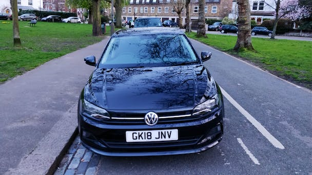 Volkswagen Polo Black 1.0 SE 95 TSI - Manual Petrol with Air conditioning
