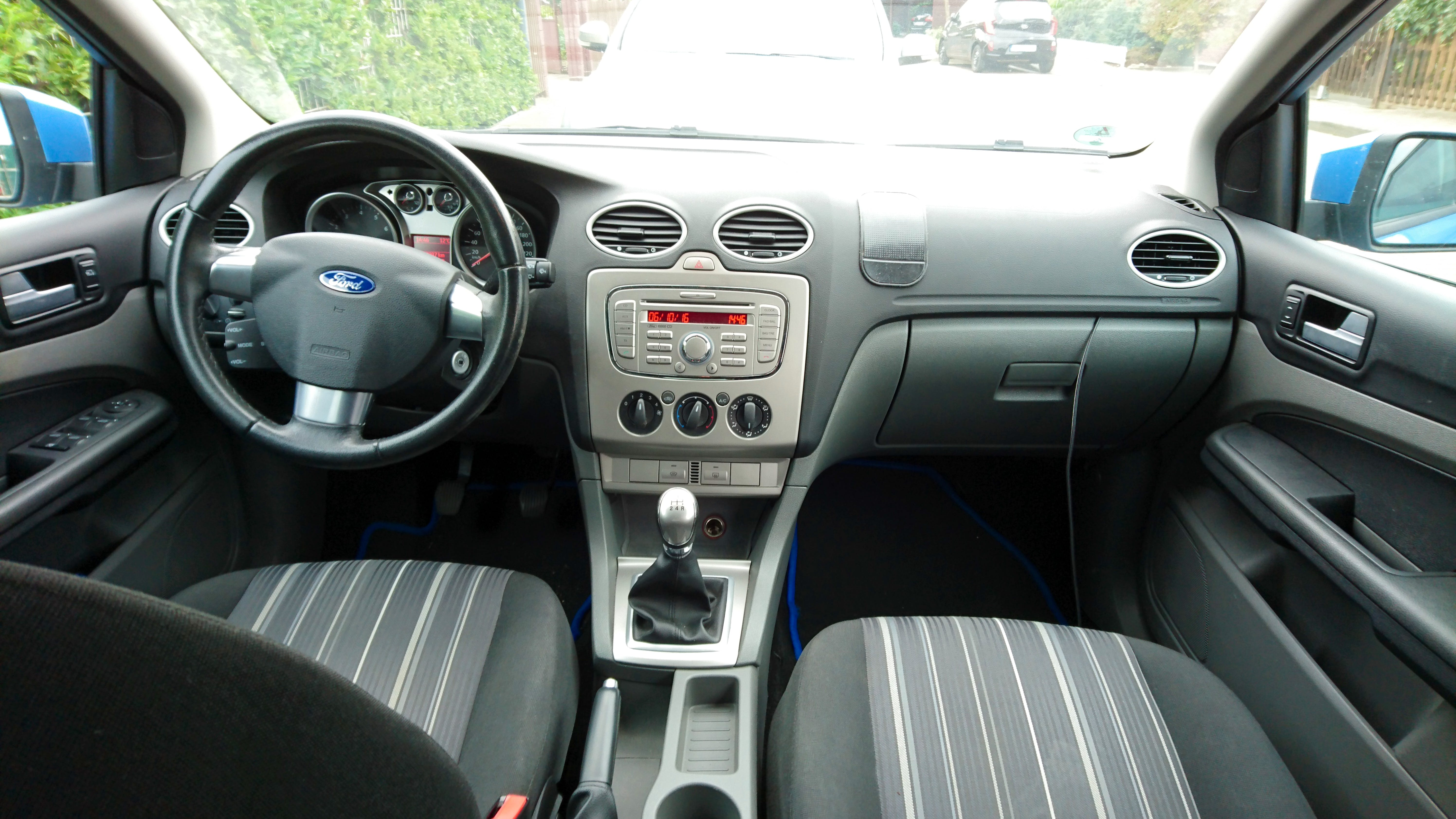 Ford Focus II (Facelift) mit Audio-/iPod-Zugang