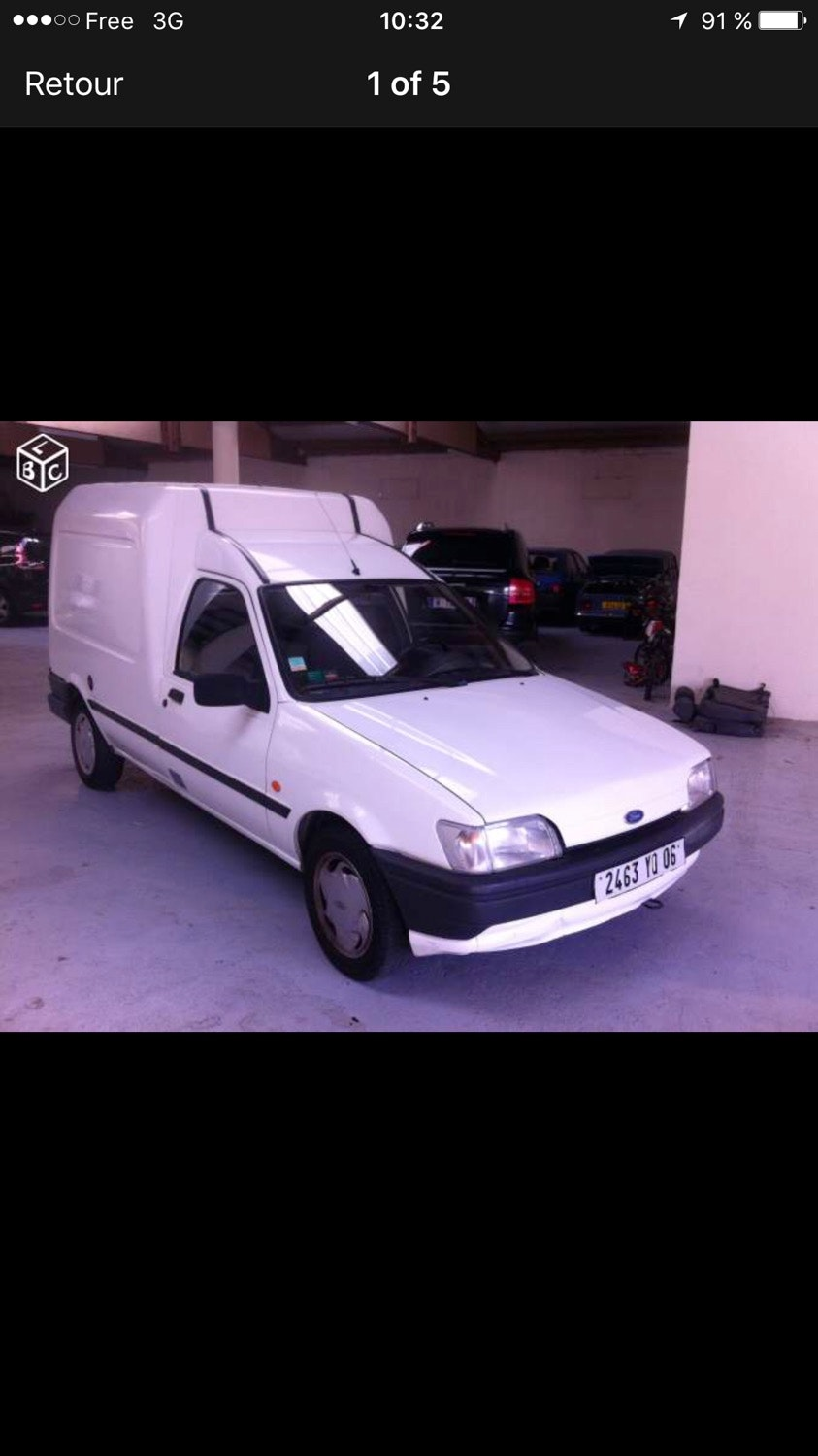 Ford Courier, 1994, Essence - Utilitaire Marseille (13)