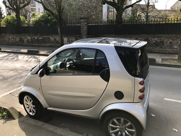 location smart fortwo coup 2006 automatique villemomble 107 grande rue. Black Bedroom Furniture Sets. Home Design Ideas