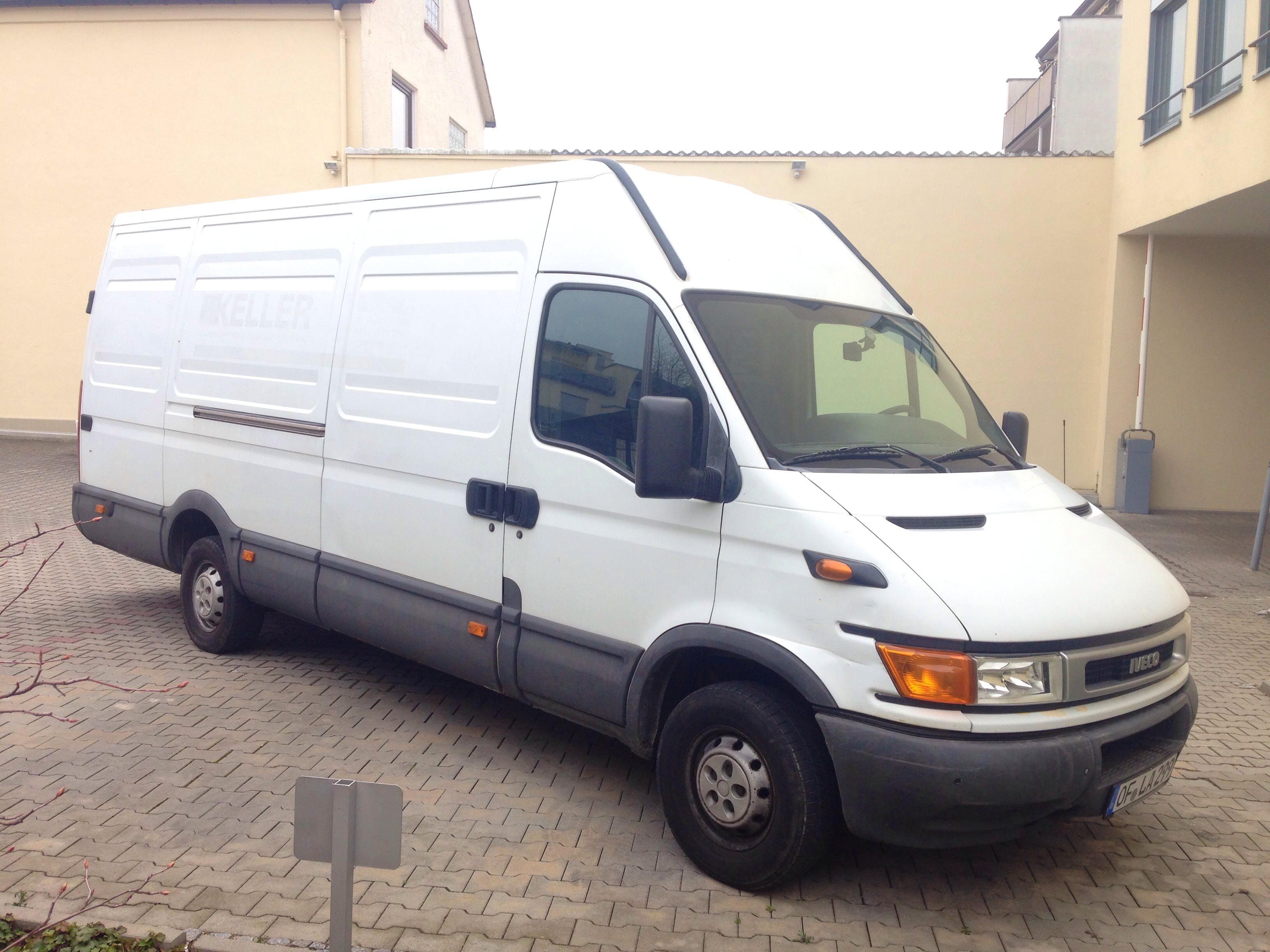 Iveco Daily mit Klimaanlage/AC