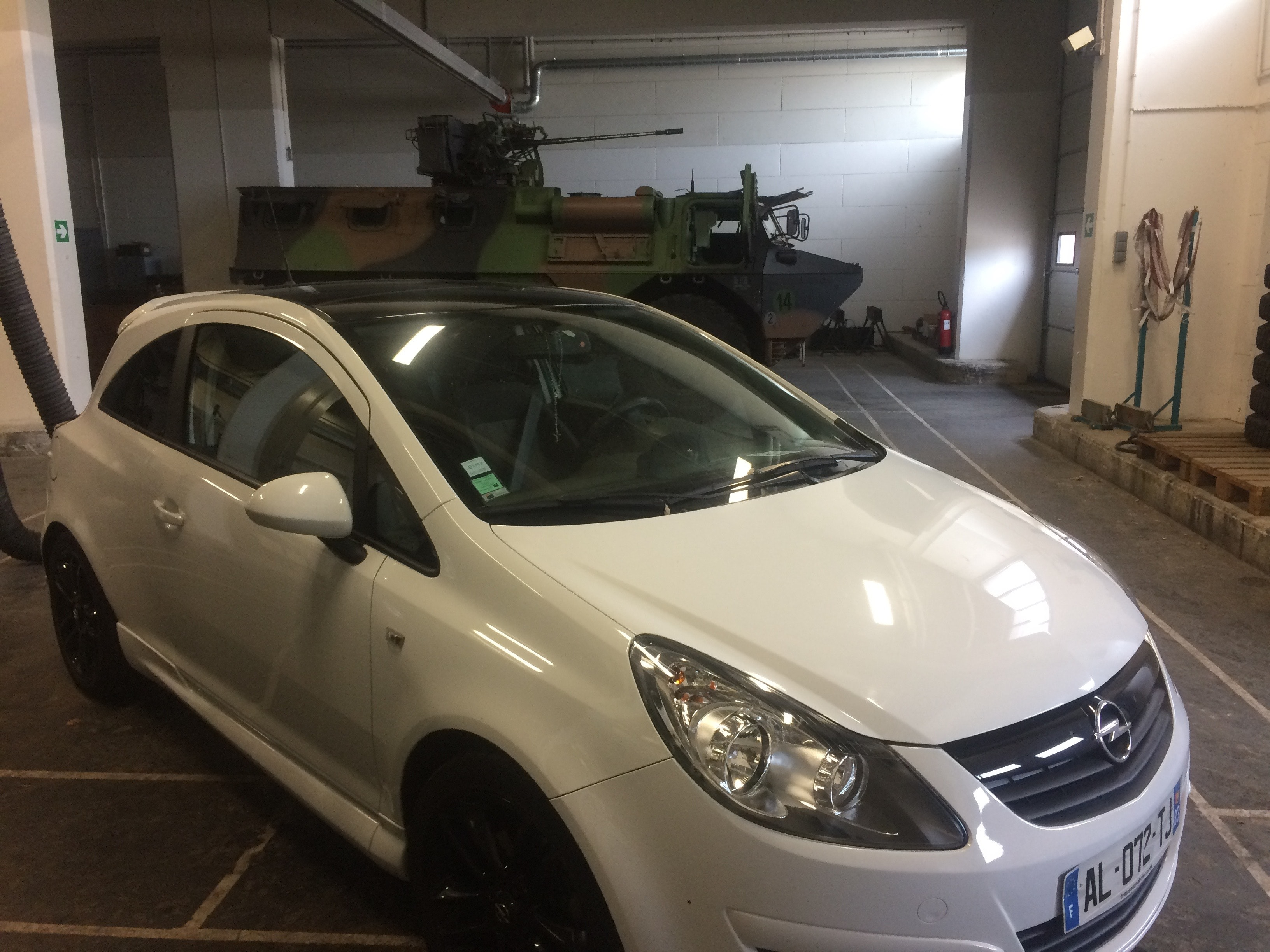 Opel corsa Colors edition pack OPC, 2010, Diesel