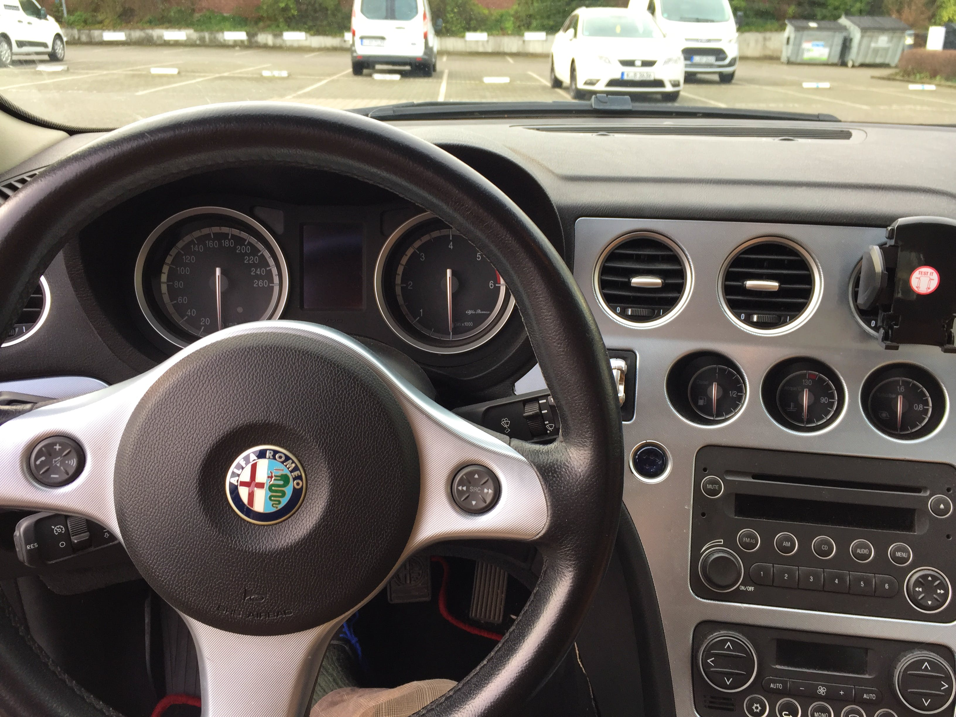 Alfa-Romeo 159 2.4 JTD mit CD-Player